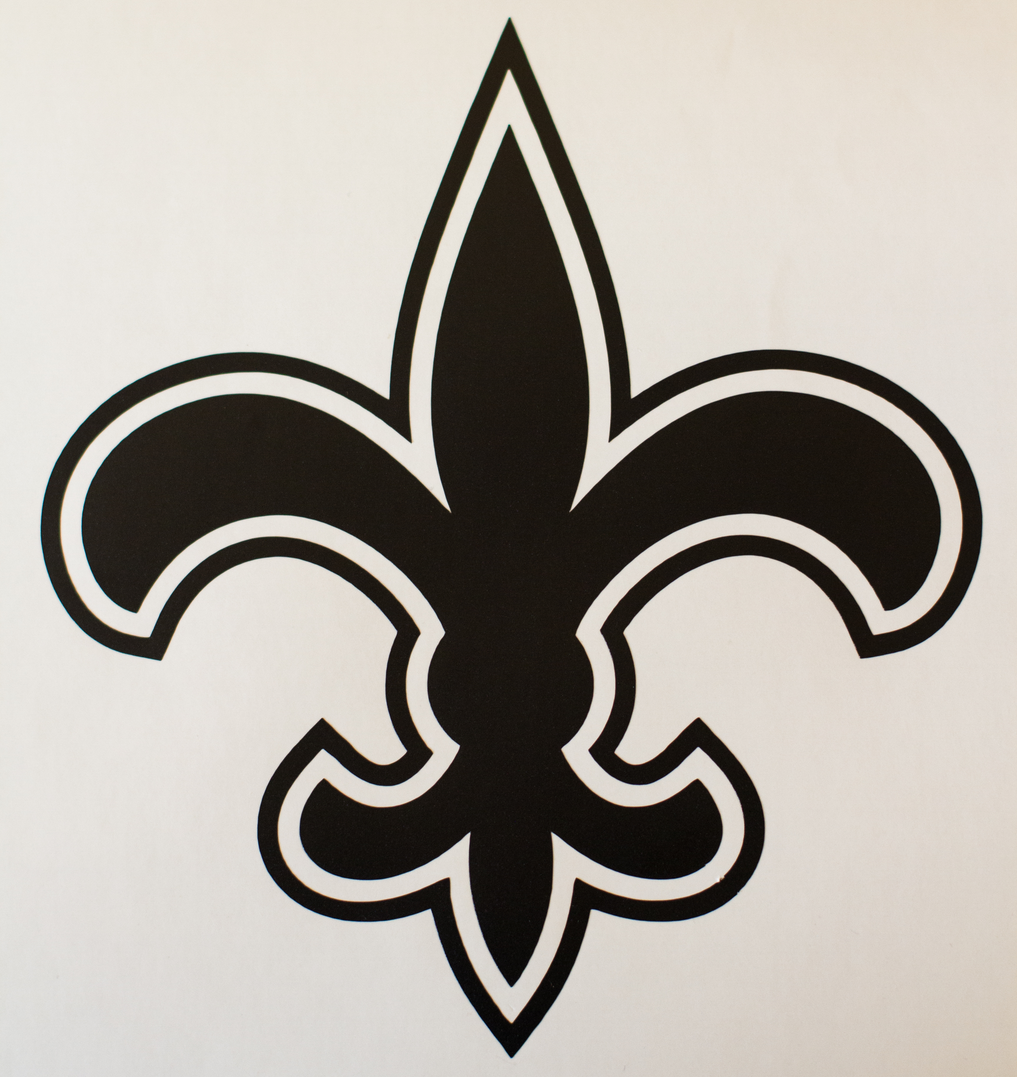 Geekcals new orleans saints decal design your space saints fleur de lis football decal biocorpaavc Gallery