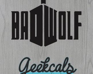 Bad Wolf Tardis Vinyl Wall Decal