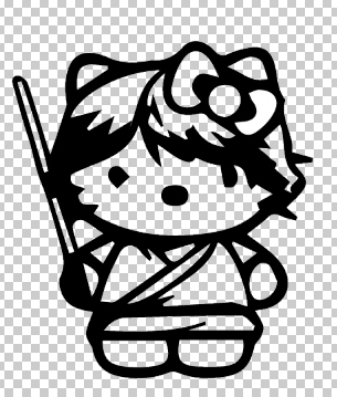 Hello Kitty Luke Skywalker