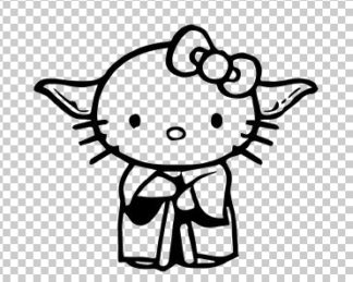 Hello Kitty Yoda
