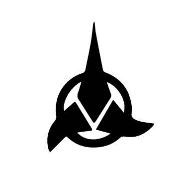 geekcals klingon symbol design your space. Black Bedroom Furniture Sets. Home Design Ideas