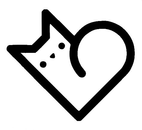 Cat Heart Symbol