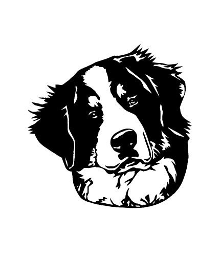 Geekcals Bernese Mountain Dog Decal Design Your Space