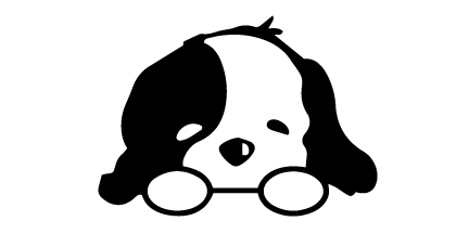 Cute Puppy Car Decal