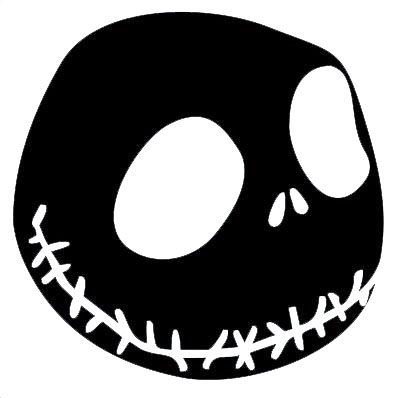 Geekcals - NBC Jack Skellington Decal - Design Your Space