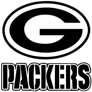 Green Bay Packers Car Sticker