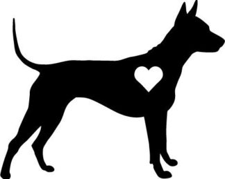 Thai Ridgeback Love Decal