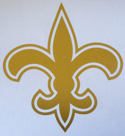 Saints Fleur De Lis Wall Decal