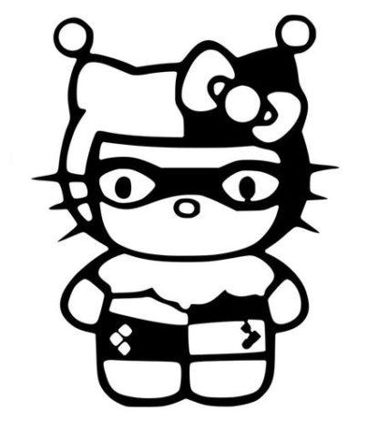 Hello Kitty Harley Quinn