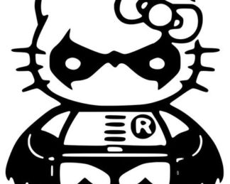 Hello Kitty Robin