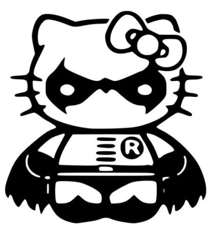 Hello Kitty Robin