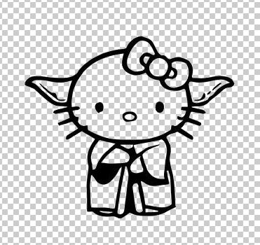 Hello Kitty Yoda