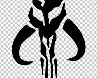 Mandalorian Custom Decal
