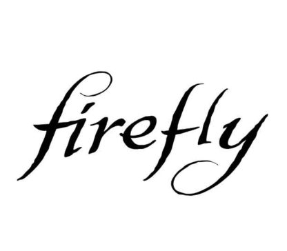 Firefly Logo Sticker