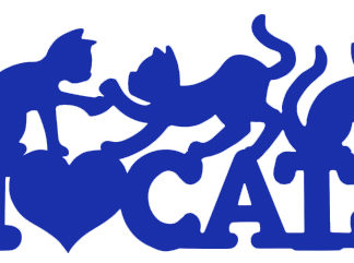 I Love Cats Wall & Car Decals