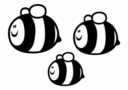 Bumbly Bees Decals