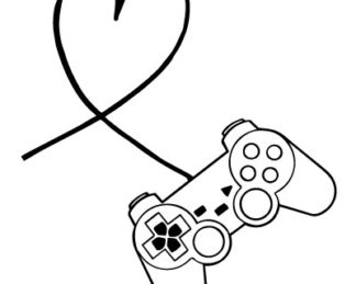 Gamer Love Vinyl Decal