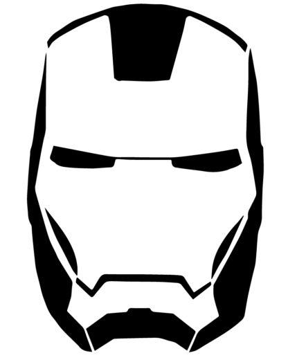 Iron Man Mask Sticker