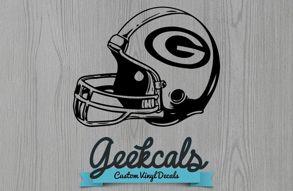 Geekcals Green Bay Packers Helmet Design Your Space