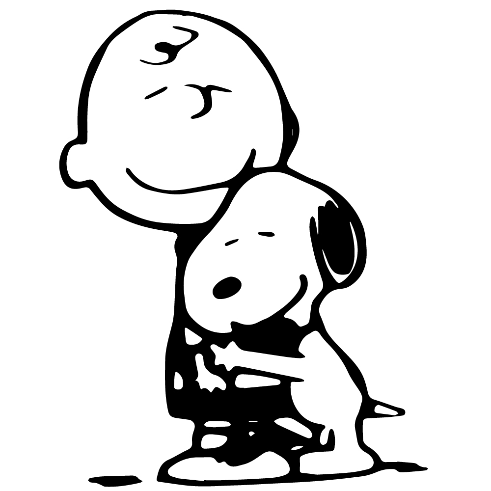 Geekcals - Charlie Brown & Snoopy Decal - Design Your Space