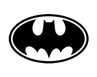 Batman Symbol Decal