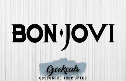 Bon Jovi Inspired Custom Vinyl Decal